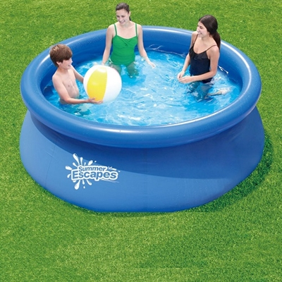 "8' X 30"" QUICK SET RING POOL"