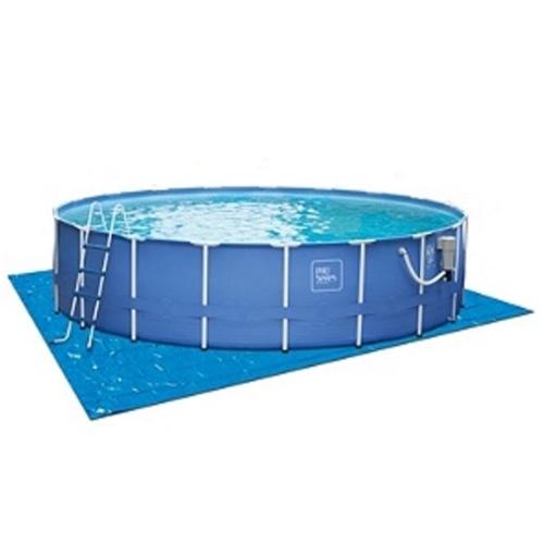 18 X 48 Proseries Metal Frame Round Pool Liner Polygroupstore