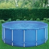 solar transparent pool cover