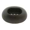 Black Leg Caps for ProSeries Metal Frame Round Pools with OBLONG Legs