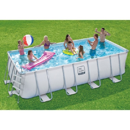 12 X 24 X 52 Proseries Rectangular Metal Frame Pool Liner