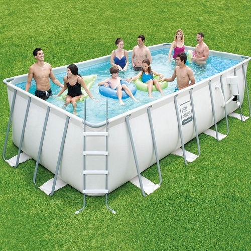 12 X 30 X 48 Proseries Metal Frame Rectangular Pool Liner