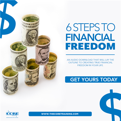 6 Steps to Financial Freedom - Audio Download