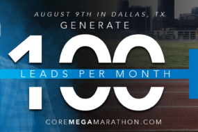 The 2019 Sales Mega Marathon - for Summit Funding Agents