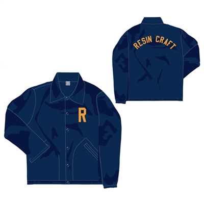 Resin Craft Coach JKT Collaboration with Ebbets Fields Flannels