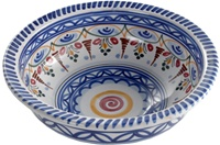 Hand Painted Bowl - 10 inch Diameter