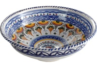 Hand Painted Bowl - 13 inch Diameter