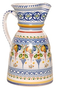 Jarra Ancho Pitcher - 10 inch Tall