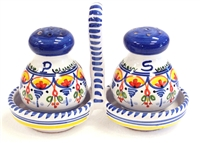 Salt and Pepper Set with Holder