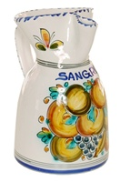Fruta Style Sangria Pitcher - 8.5 inch Tall