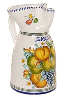 Fruta Style Sangria Pitcher - 10 inch Tall