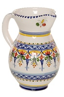 Campana Style Pitcher - 8 inch Tall
