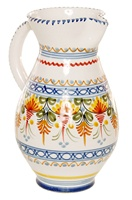 Campana Style Pitcher - 10 inch Tall