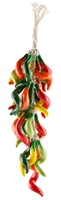 """COLORED PUYA PEPPER LARGE RISTRA 18""""L"""