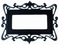 Tuscany Aluminum Frame for 3 Numbers