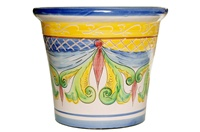 """Mallorquina Planter - 17""""x14.50""""H - Decoration 400"""