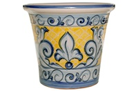 """Mallorquina Planter - 14.50""""x12.50""""H - Decoration 100"""