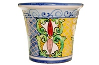 """Mallorquina Planter - 14.50""""x12.50""""H - Decoration 300"""