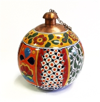 Talavera Cancun Style Table Top Torch