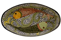 """Oval Serving Dish - 17.50"""" x 10"""""""