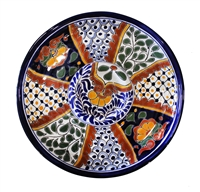 """Chip and Dip Plate - 12"""" Diameter x 1.375"""" High"""