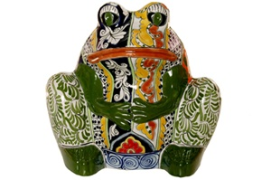 """Frog Planter (Large) - 14"""" High x 14.50"""" Wide"""
