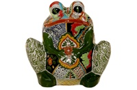 """Frog Planter (Xtra Large) - 18"""" High x 18.50"""" Wide"""