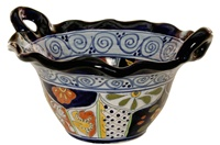 """Large Bowl With Handles - 14.50"""" x 8"""""""