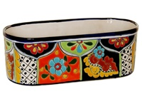 """Oval Window Box - 13.50""""L x 5.75""""W x 4.75H"""