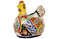 """Small Hen Planter - 12"""" X 11.5""""H"""