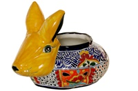 """Large Rabbit Planter - 14.5""""L X 11.5""""H"""