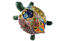 """Large Wall Turtle - 7""""W x 10""""L (Green Body)"""