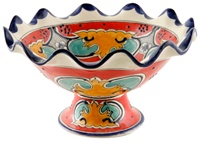 """Fruit bowl 13.5"""" dia X 7.50"""" high"""