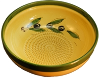 "SALAD BOWL WITH GRATER  9.25"" x 3.5"""
