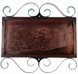 Horizontal Copper Frame for 3 Numbers