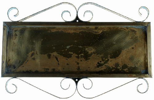 e0bbbeccd650 Horizontal Brass Frame for 5 Numbers