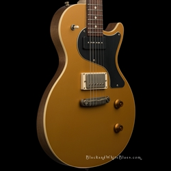 Nik Huber Guitars Krautster II in Worn Gold Top - 4 1945