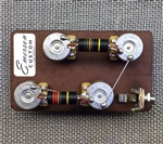 Emerson Custom Les Paul Long Shaft 3/4' Pre-Wired Kit (500K Ohm Pots and 0.022uf  & 0.015uf Bumblebee Capacitors)