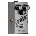 Greer Amps Lightspeed Organic Overdrive Pedal in Moonshot Silver
