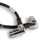 Best-Tronics Right-Angle 5 Pin MIDI Cable - 1ft