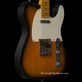Nash Guitars T-57 Light Distress in 2-Tone Sunburst