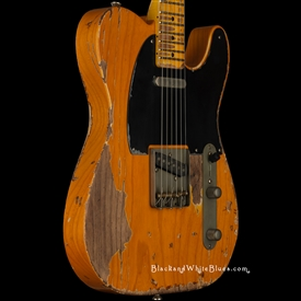 Nash Guitars T-52 Heavy Distress in Amber