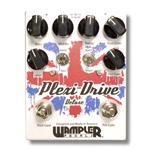 Wampler Plexi-Drive Deluxe Overdrive Pedal - Black and White Blues Guitar Shop!