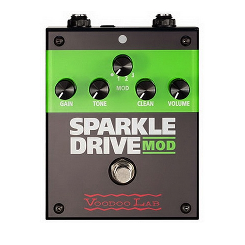 voodoo lab sparkle drive mod pedal. Black Bedroom Furniture Sets. Home Design Ideas
