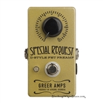 Greer Amps Special Request Boost Pedal