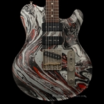Nik Huber Guitars Twangmeister in Custom Swirl