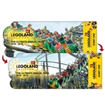 Lenticular 3D Event Ticket Admission Event Pass Custom Shaped