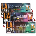 Lenticular Event Ticket Admission Event Pass