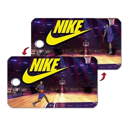 "Lenticular 3D Apparel Tag Custom Design 2""x3.5"""
