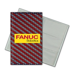 Lenticular business card file with USA flag stars and stripes, color changing flip